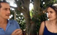 אייל שפרינגר ומאיה חריש בכנס אתגר הסוכר